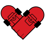 I Love To Skateboard